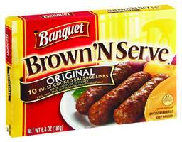 Banquet Banquet Brown N Serve Sausage Links