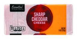 Essential Everyday Chunk or Shredded Cheese