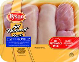 Tyson Best Of The Boneless 2 Breasts & 4 Thighs